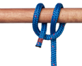 Clove Hitch Tied with Rope End