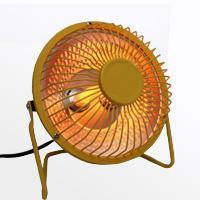 بخاری برقی سفری 4 اینچی