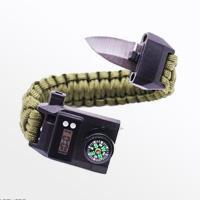 دستبند پاراکورد تاکتیکال به همراه ساعت