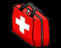 محتویات کیف بقای حین زلزله