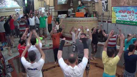 1032 - ورزش زورخانه هژبر تهران مرشد مجید پناهی