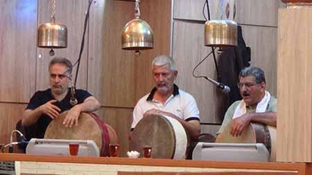 1036 - ورزش زورخانه ای در زورخانه چمران مشهد مرشدین آقایان طبسی و عاطفی
