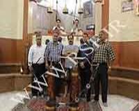 1003 - اجرای ورزش پهلوانی باشگاه چمران مشهد تیم محبین علی اکبر امام حسین