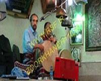 1009 -ورزش پهلوانی در زورخانه شهدا مشهد - مرشد استاد فرامرز نجفی تهرانی