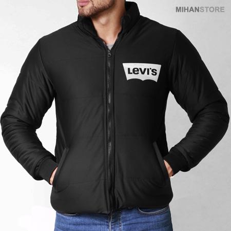کاپشن مردانه Levis طرح Bork