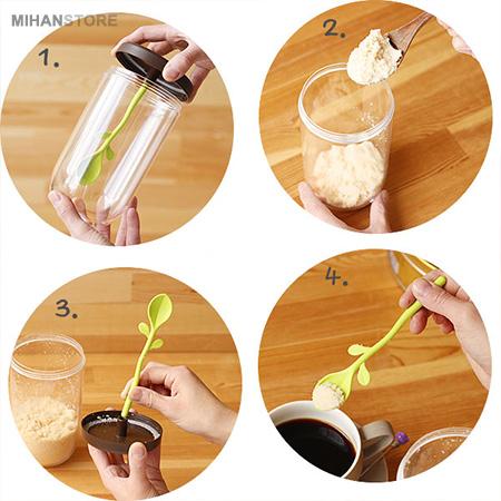 ظرف نگهدارنده چای و قهوه Scoop Jar
