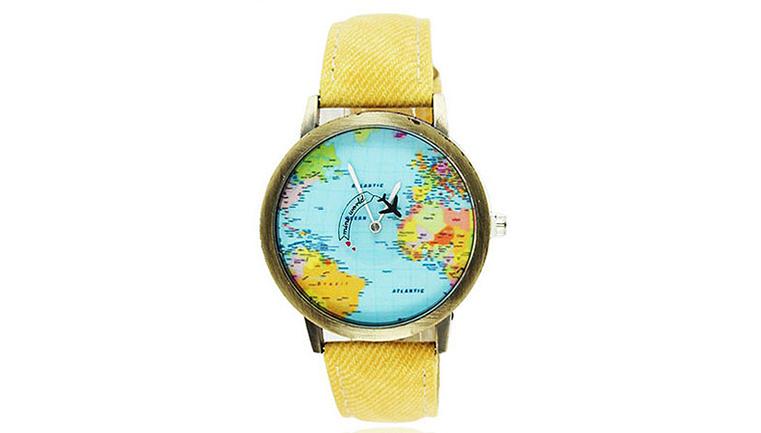 ساعت مچی طرح نقشه