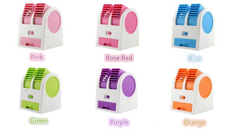 مینی کولر رومیزی USB
