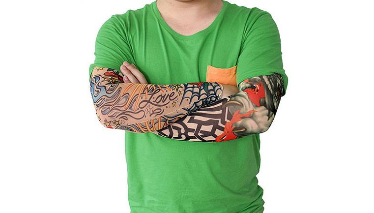 ساق دست طرح تاتو