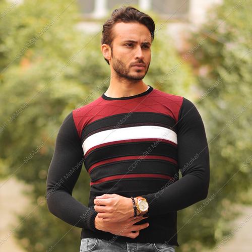 پلیور بافت مردانه مدل NIKXO