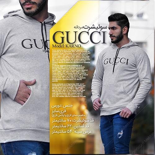 سوئیشرت مردانه GUCCI مدل KARNO
