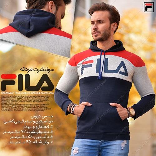 سوئیشرت مردانه مدل FILA