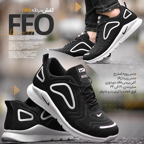 کفش مردانهNIKE مدلFEO مشکی