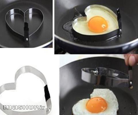 قالب قلبی کوکو و تخم مرغ