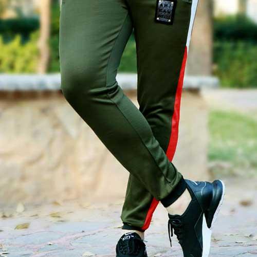 شلوار اسلش مردانه مدل Elvis (سبز)