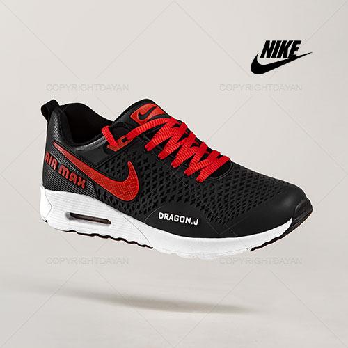 کفش مردانه Nike مدل Q8716 (مشکی قرمز)