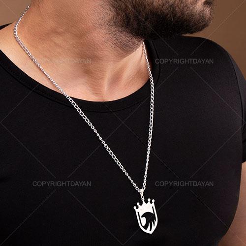 گردنبند مردانه شاهین