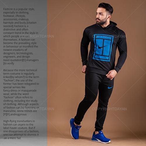 ست سویشرت و شلوار مردانه Nike مدل M8010