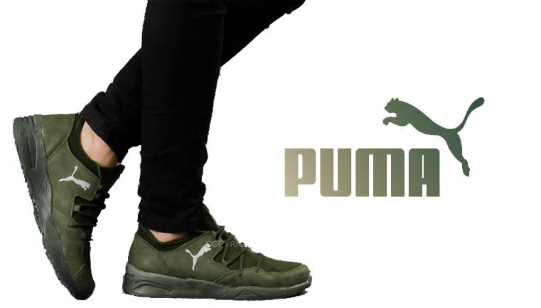 کفش مردانه Puma مدل Verno(سبز)