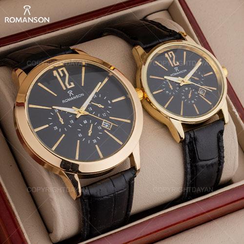 ست ساعت مچی مردانه و زنانه Romanson مدل W8836