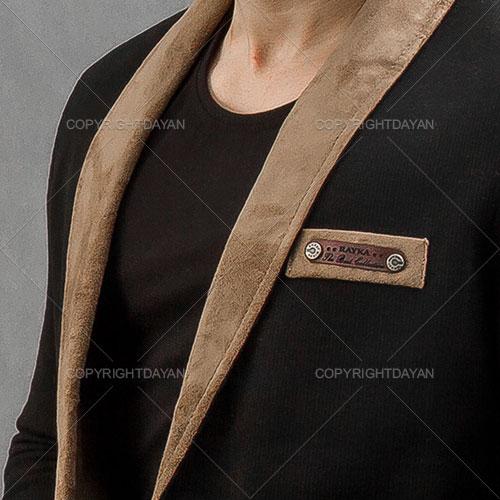 کت اسپرت مردانه Massimo Dutti (مشکی)