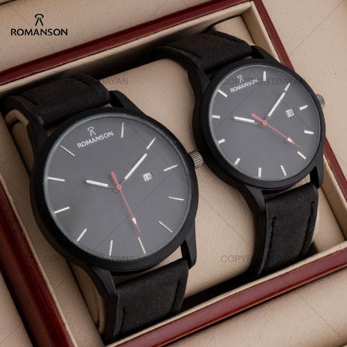 ست ساعت مچی مردانه و زنانه Romanson مدل W8749
