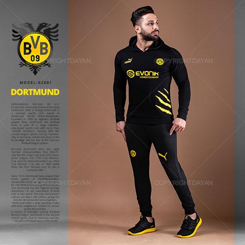 ست سویشرت و شلوار مردانه Dortmund مدل G2001