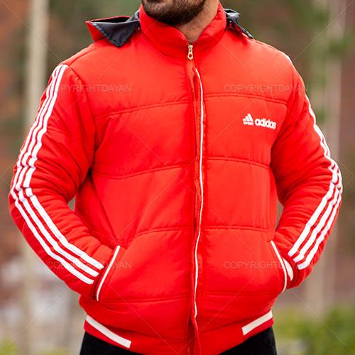 کاپشن مردانه Adidas مدل R1360 (قرمز)