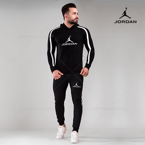 ست سویشرت و شلوار مردانه Jordan مدل S7688
