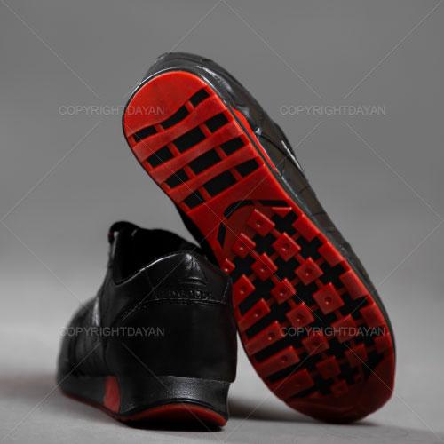 کفش مردانه Reebok مدل K1140 (مشکی قرمز)