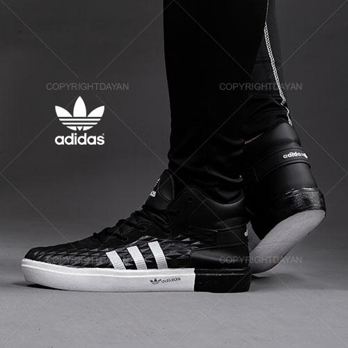 کفش ساقدار مردانه Adidas مدل K1155 (مشکی)