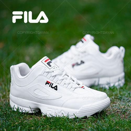 کفش مردانه Fila مدل Naba (تمام سفید)