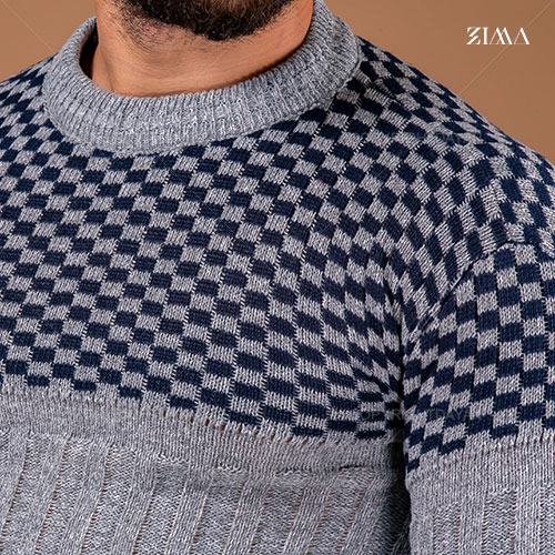 بافت مردانه Zima مدل R1807 (خاکستری)