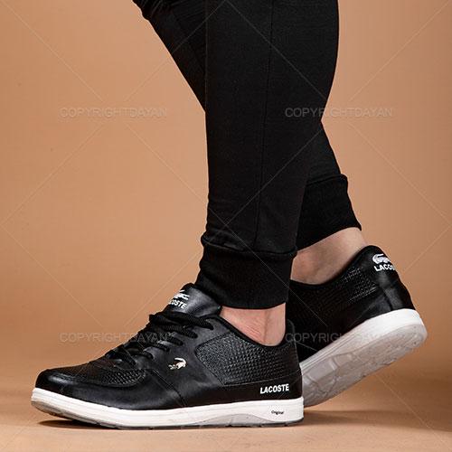 کفش مردانه Lacoste مدل K1904 (مشکی)