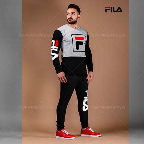 ست تیشرت و شلوار مردانه Fila مدل H9802
