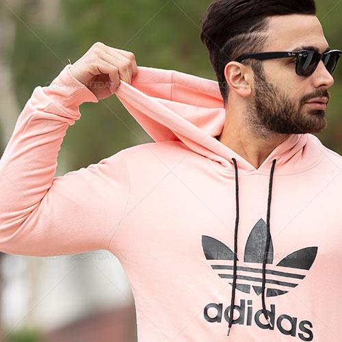 سویشرت مردانه Adidas مدل T6002 (گلبهی)