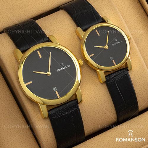 ست ساعت مردانه و زنانه Romanson مدل W9143(مشکی)
