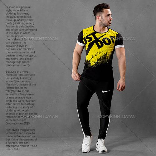 ست تیشرت و شلوار مردانه Nike مدل S3090