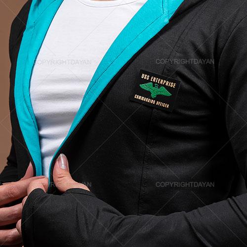شنل مردانه Damon مدل T9985