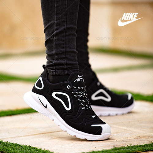 کفش مردانه Nike مدل Q3597 (مشکی سفید)