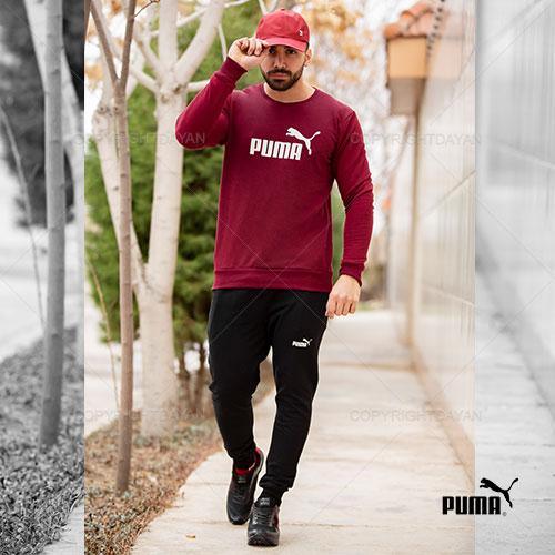 ست تیشرت و شلوار مردانه Puma مدل A8806