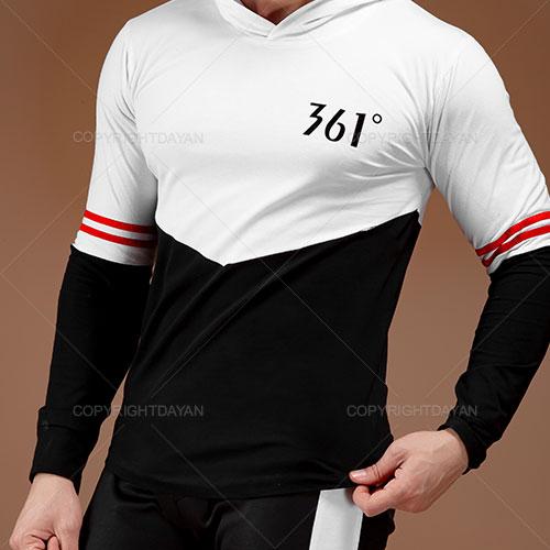 ست سویشرت و شلوار مردانه 361 درجه مدل A1042