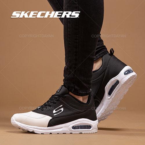 کفش مردانه Skechers مدل K7522 (مشکی سفید)