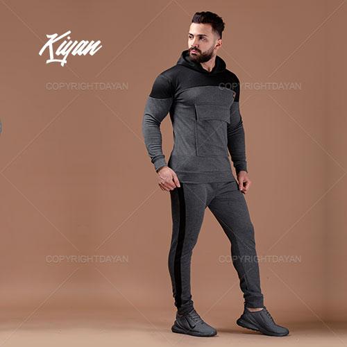ست سویشرت و شلوار مردانه Kiyan مدل S9508