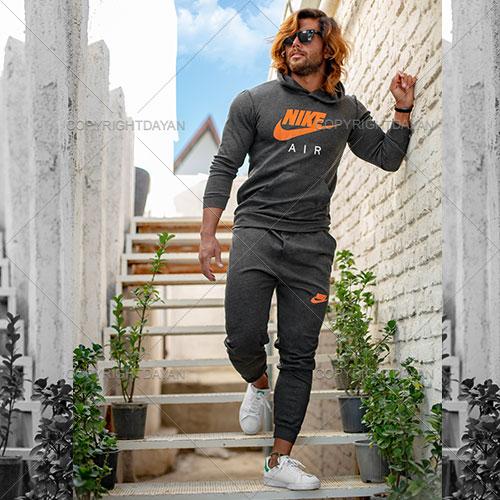 ست سویشرت و شلوار مردانه Nike مدل A1422