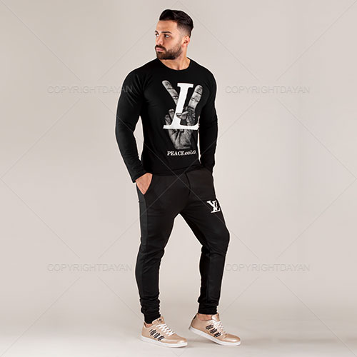 ست تیشرت و شلوار مردانه Louis Vuitton مدل H6861