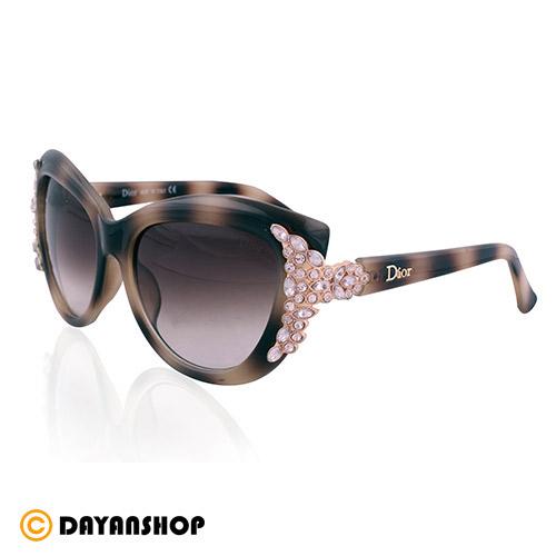 عینک زنانه Dior نگین دار مدل 1666