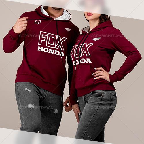 ست سویشرت مردانه و زنانه Honda مدل U6806
