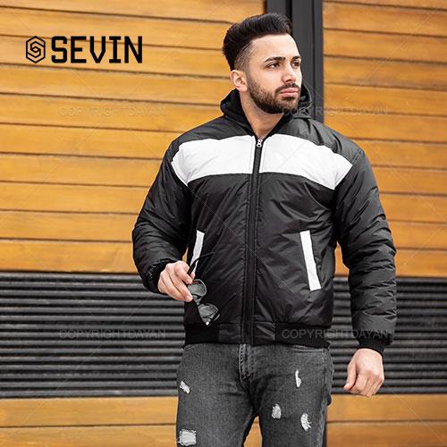 کاپشن مردانه Sevin مدل E2034