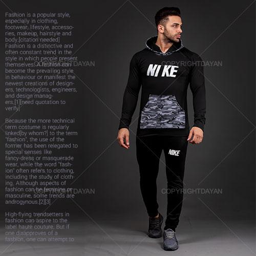 ست سویشرت و شلوار مردانه Nike مدل S5709